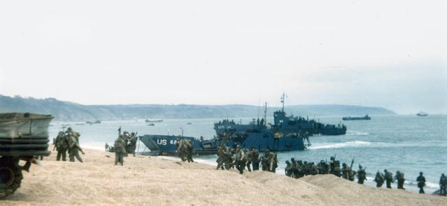 The U.S. 29th infantry division fought its way ashore in Normandy on the bloodiest of D-Day beaches.