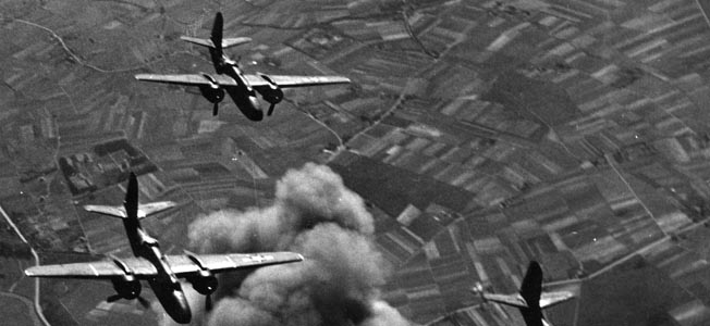 The destructive power of the Eighth Air Force steadily grew during the bombing campaign against Nazi Germany.