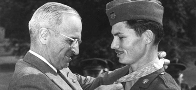 Desmond Doss, a conscientious objector, received the Medal of Honor for courage under fire.