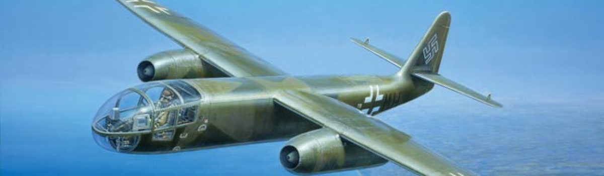WWII Aircraft: The Arado Ar-234 Blitz Jet