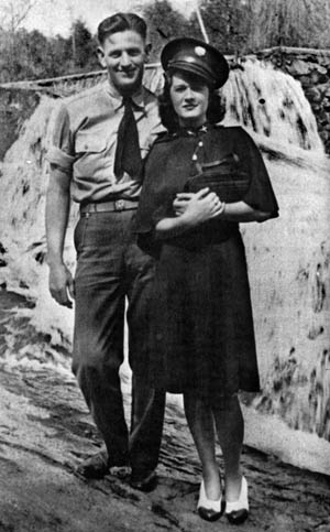 Sgt. John Wilkes, photographed with his wife Bettie.