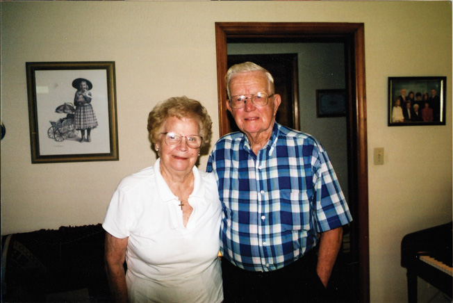 Ray Nance, photographed with his wife Alpha.