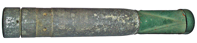 A Luftwaffe 1kg incendiary bomb (Brandbombe) presumed to be of the B1 type.