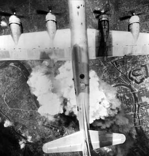 The fire-bombing raids on Japan constituted all-out war on a civilian population.