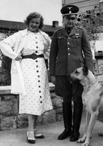 Otto Koch and his wife, Ilse, the infamous couple that presided over much of the death and misery at Buchenwald, posed in this photograph in 1937.