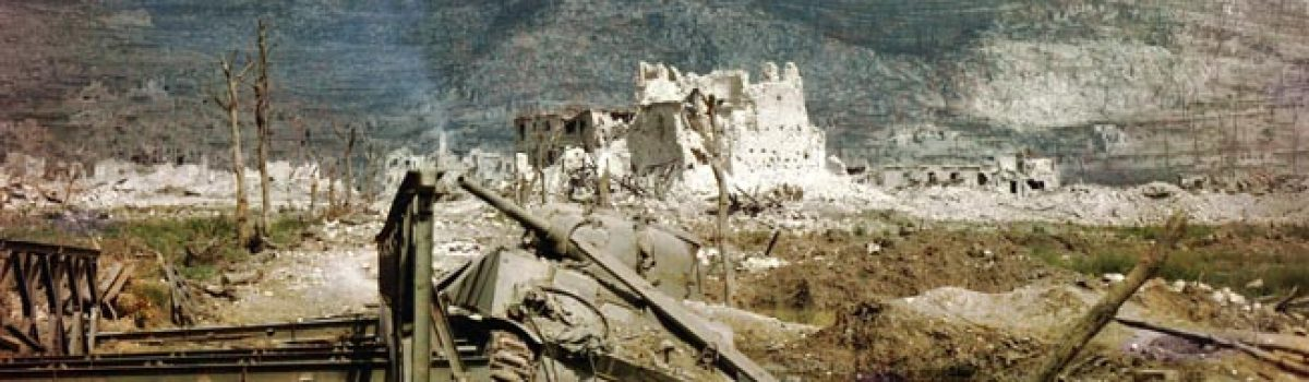 First Deadly Round at The Battle of Monte Cassino