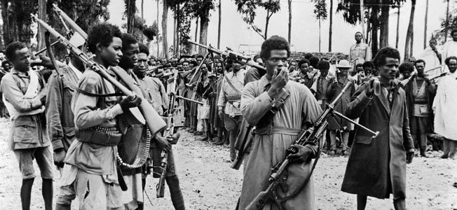 Mussolini lost his empire in East Africa to a relative handful of Commonwealth troops.