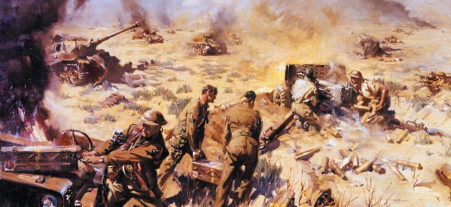 The British defeat of Panzerarmee Africa at Alam El Halfa in 1942 was a turning point in the North African campaign.