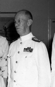 Admiral C.H. McMorris commanded the U.S. naval contingent that won the Battle of the Komandorski Islands in March 1943, preventing the Japanese resupply efforts int he Aleutians.
