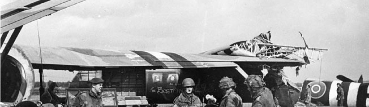 Off to War in a Plywood Box: Glidermen of WWII