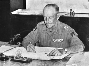 Major General Douglas Gracey commanded the 20th Indian Division and shouldered responsibility for delivering humanitarian aid and helping former prisoners of war in Indochina.