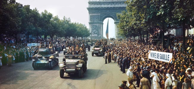 Free French forces under General Jacques Leclerc upheld the honor of France during World War II.