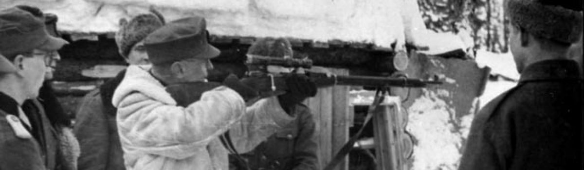 Caught in the Crosshairs: Snipers in WWII