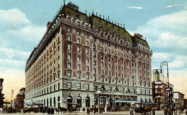 U.S. Navy Commander Charles Haffenden ran Project Underworld from several suites at the posh Times Square Astoria Hotel in New York.