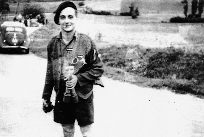 Known as Paul, this physician from Corsica killed three Germans with a pistol during a Maquis patrol.