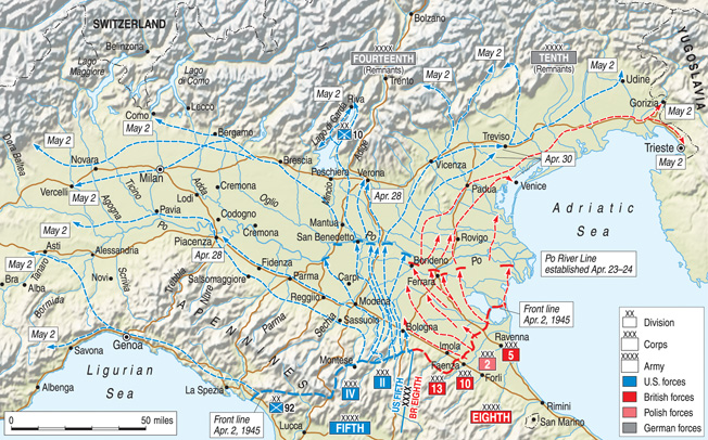 Surging Toward the Alps: Last Battles of the Italian Campaign