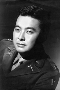 Lieutenant Daniel Inouye of the 442nd Regimental Combat Team lost his right arm at the head of his company on April 9, 1945. Inouye went on to become a long-serving U.S. senator from Hawaii, received the Medal of Honor decades later, and died in 2012.
