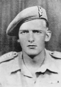A holder of three Military Crosses for heroism, Major Anders Lassen of the British Special Boat Service was killed in action at Lake Commacchio and received a posthumous Victoria Cross.