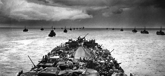 LST-449 and the future president of the United States survived a massive Japanese attack in the Solomon Islands.