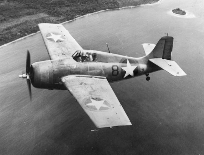 The Grumman F4F Wildcat was the first American fighter that was capable of dogfighting the nimble Japanese Mitsubishi A6M Zero fighter during the opening months of World War II in the Pacific.