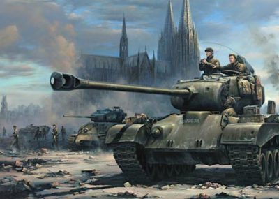 Fighting with the M26 American Heavy Tank
