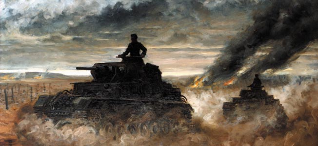 Using speed and daring, Panzer leader Hyazinth Graf Strachwitz achieved multiple victories on the Eastern Front in World War II.