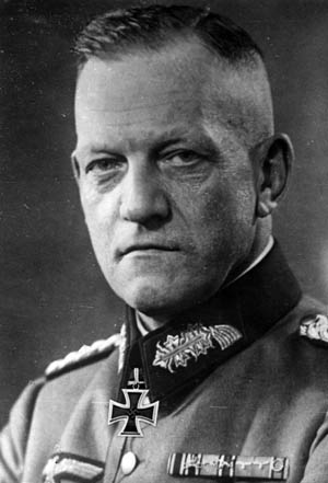 Colonel General Georg Lindemann, a Prussian, commanded the German Eighteenth Army at Leningrad.