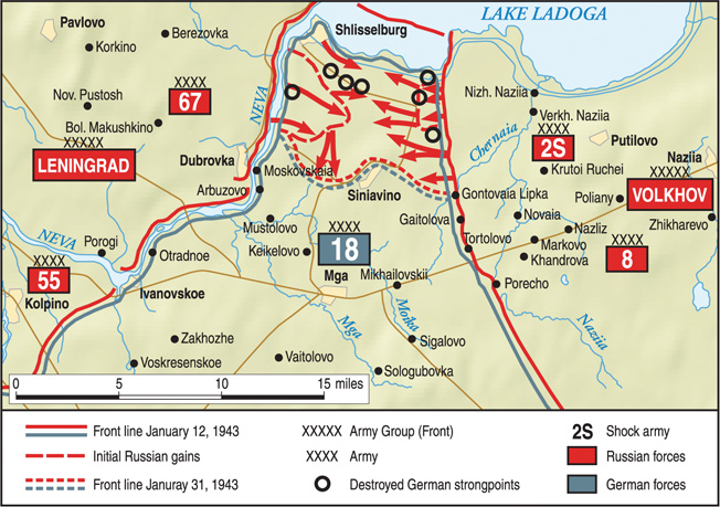 Soviet Operation Spark was intended to raise the German siege of Leningrad once and for all. However, it proved to be only the first phase of the Red Army effort that was successfully concluded the following spring.