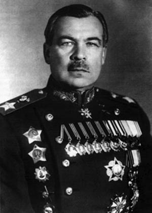 Lieutenant General Leonid A. Govorov commanded the Leningrad Front and stubbornly defended a crucial bridgehead.