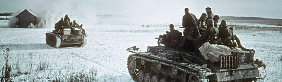 Panzers at the Gates of Moscow