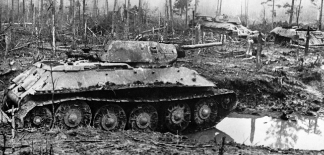 WW II  - Eastern Front - Siege of Leningrad 1942