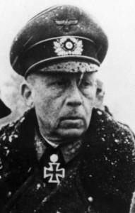 Gen. Sigfried Heinrici