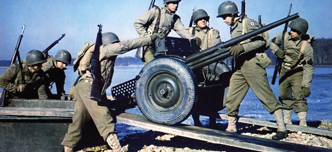 Despite lacks of modern features and firepower, the 37mm cannon still served throughout the World War II.