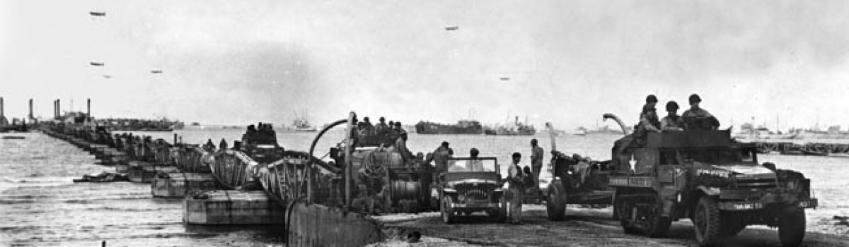 D-Day's Concrete Fleet: Making the Mulberry Harbors