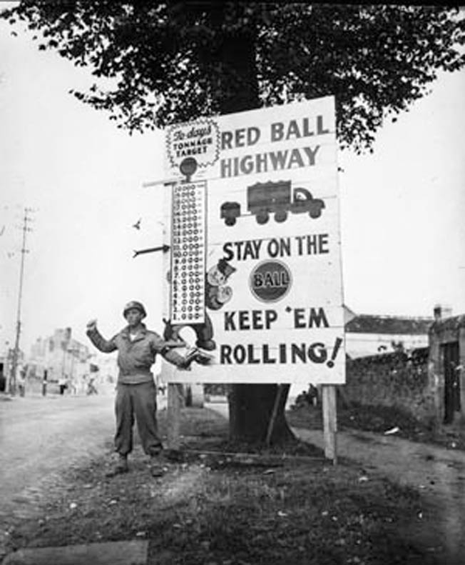 The Red Ball Express kept the Allies rolling during the arduous campaign in Western Europe.