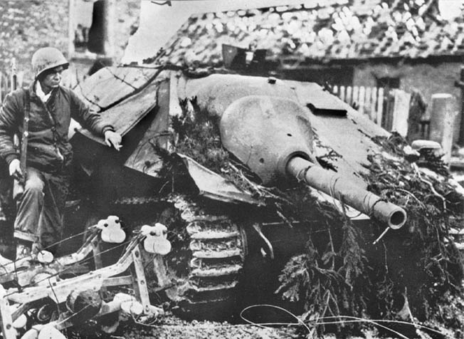 The Hetzer provided lengthy service on all fronts where the German Army ws engaged during World War II.