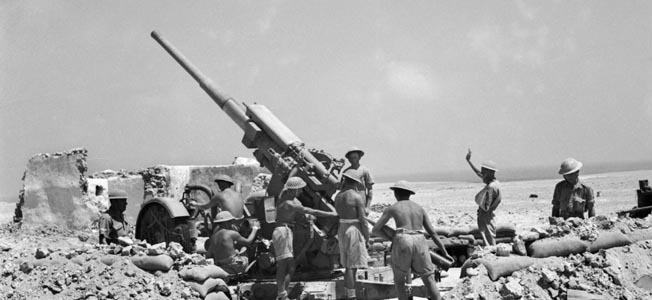 The British 3.7-inch antiaircraft gun might have served as an effective counter to heavy German armor in the North African Desert.
