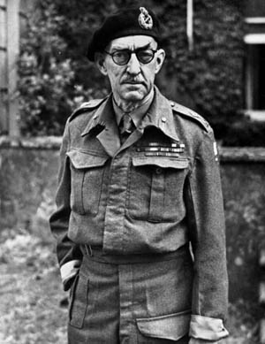 British armored expert Maj. Gen. Percy Hobart.