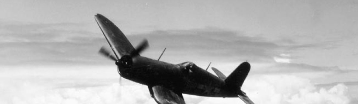 The Chance-Vought F4U Corsair: Whistling Death in the South Pacific