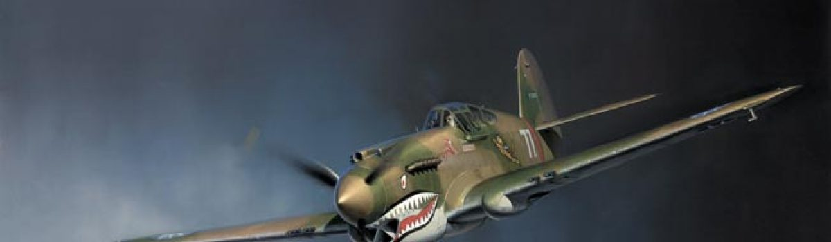 WWII Planes: The Curtiss P-40 Warhawk