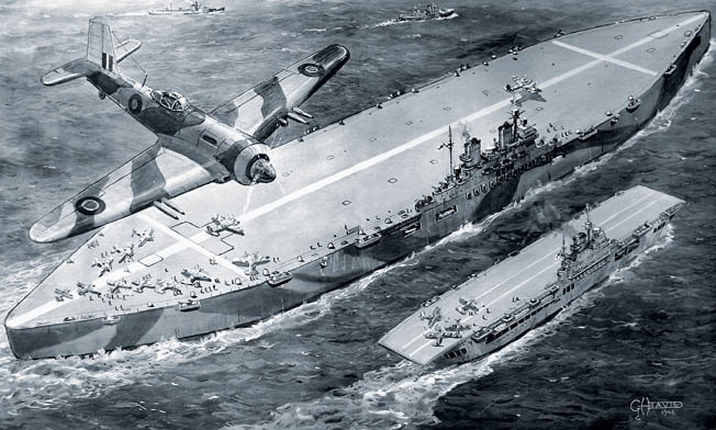 An iceberg aircraft carrier nearly became a reality.