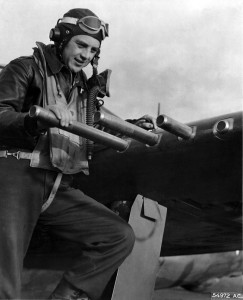 Lieutentant Colonel Hubert Zemke commanded the famed 56th Fighter Group, known as the Wolfpack, in the European Theater. A number of 56th pilots became aces flying the P-47.