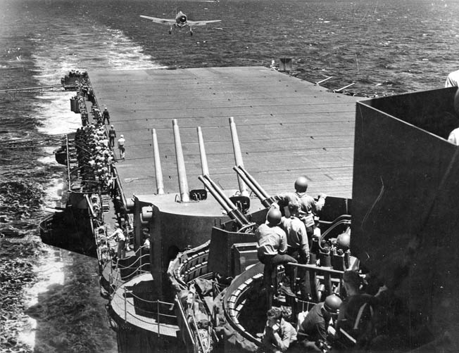 U.S. Navy air power shattered Japanese carrier based strength in a one-sided battle during the invasions of Saipan, Guam, and Titian.
