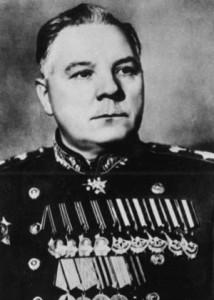 Kliment Voroshilov.