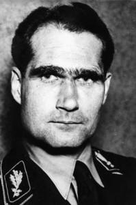Deputy Führer Rudolf Hess.