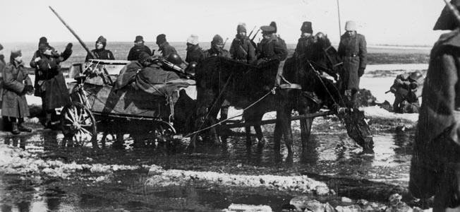 German and Romanian forces at Stalingrad failed to stem the tide of the resurgent Soviet Red Army.