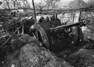 To counter the heavy French artillery fire during his crossing of the Meuse River, Rommel ordered local houses burned to provide a smoke screen.
