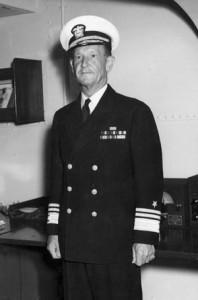 Vice Admiral Frank Jack Fletcher.