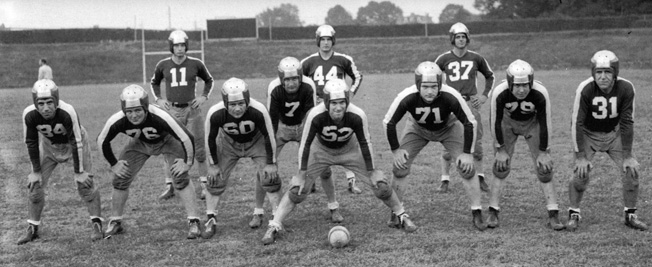 In the midst of a shortage of professional football players, the National Football League's Pittsburgh Steelers and Philadelphia Eagles merged temporarily in 1943 to form the Steagles.