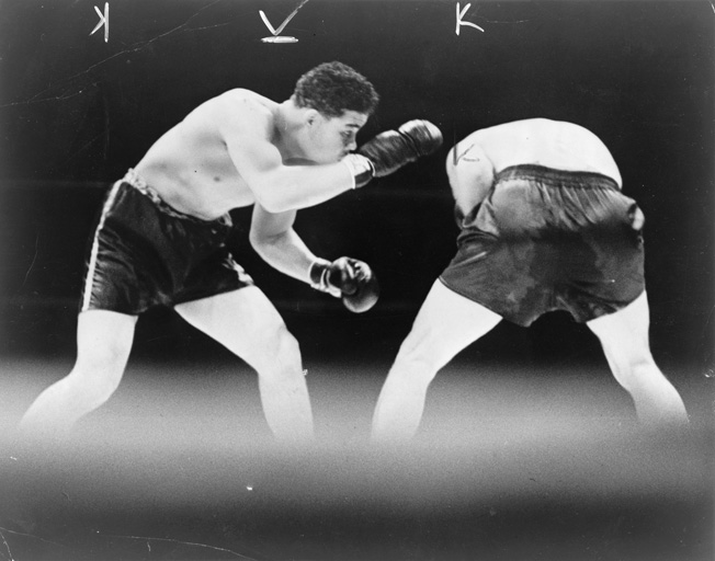 Joe Louis won the World Heavyweight Boxing Championship with a defeat of German boxer Max Schmeling. While Louis served in the U.S. Army, Schmeling went on to serve as a paratrooper in the German Luftwaffe.